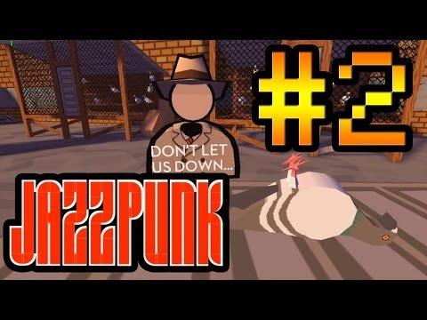 Прохождение на русском Jazzpunk #2 [Упоротый мир. Все сошли с ума!]