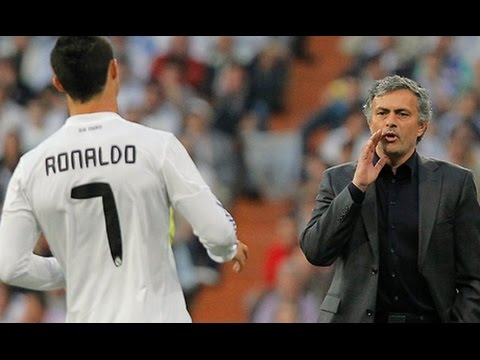 Real Madrid during Jose Mourinho era tactical analysis 2010-13 - How to play counter attacks