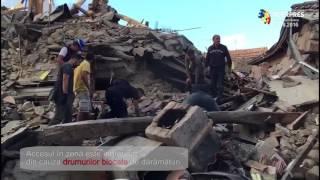 Cutremur devastator în Italia