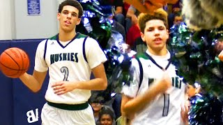 FRESHMAN LaMelo & Lonzo Ball RUN IT UP! Game OVER In 3 MINUTES! PRIME Chino Hills VS Upland