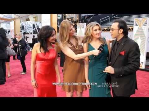 Oscar Red Carpet 2015 Hello Hollywood TV