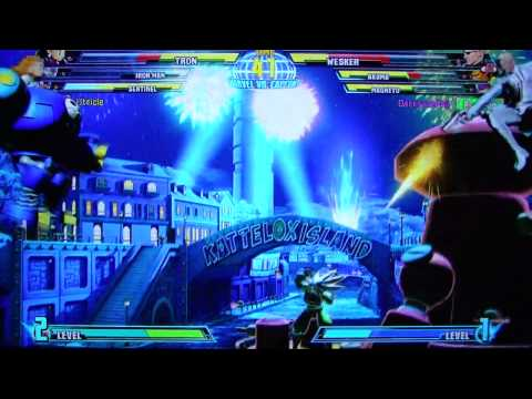 MvC3 Horrendous Lag Online Casuals pt38