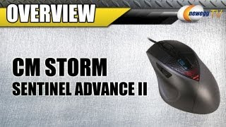 Newegg TV_ COOLER MASTER CM Storm Sentinel Advance II Wired Laser 8200 dpi Mouse Overview