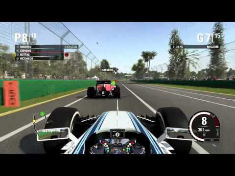 F1 2015 Gameplay Ita PC Gran Premio Melbourne Australia Leggenda
