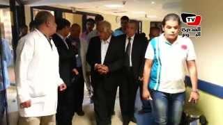 محافظ القاهرة يزور مستشفى دار السلام