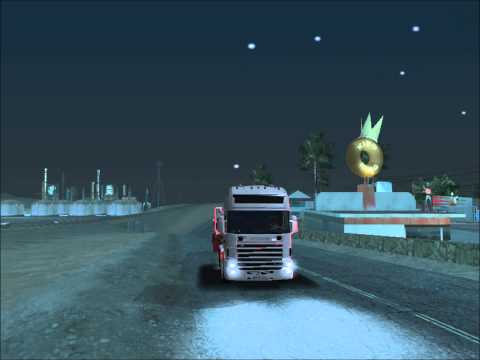 Scania 164l Gta San Andreas