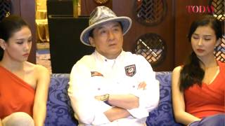 Jackie Chan speaks about his new movie CZ12