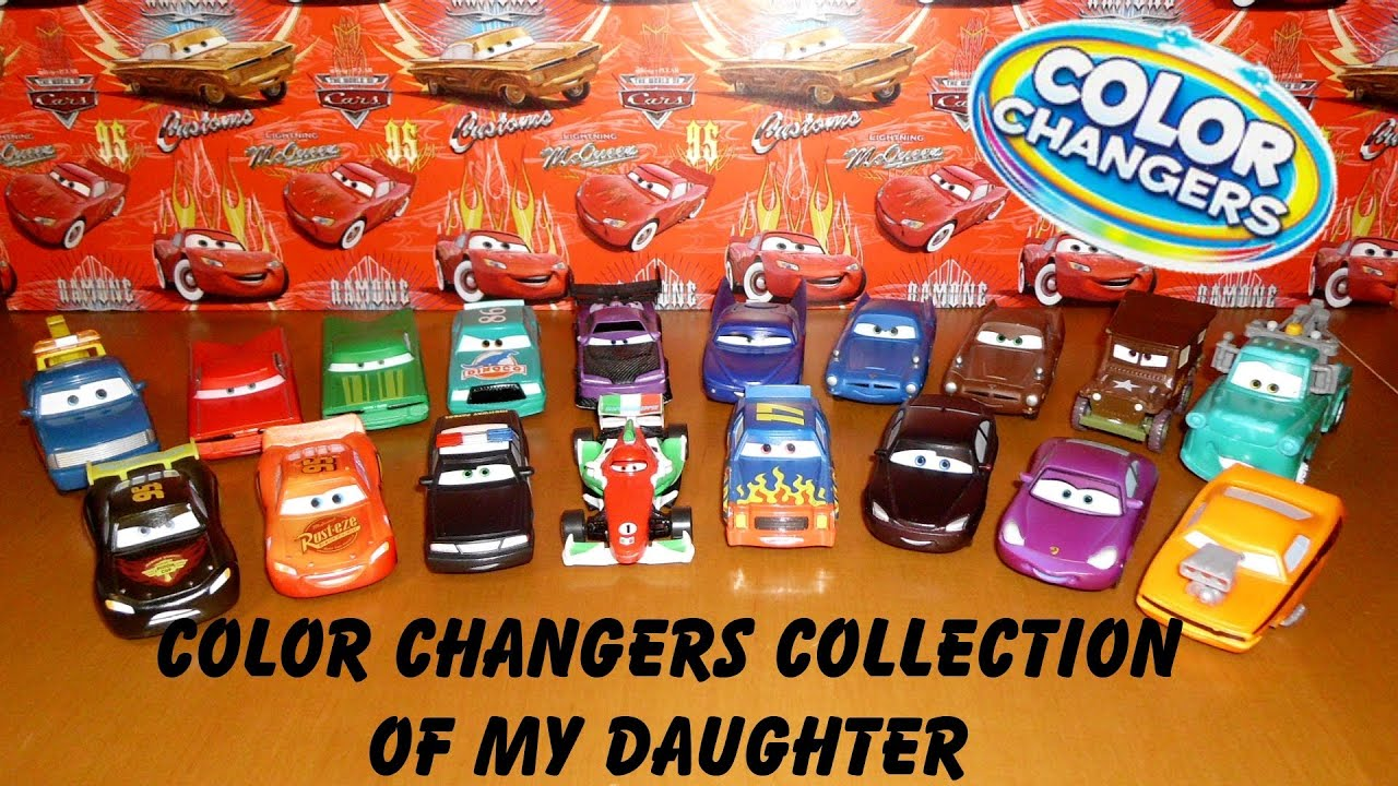 Color Changers Cars