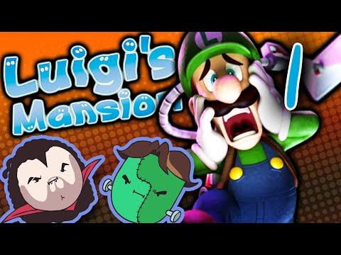 Luigi's Mansion: Give Me a Sign! - PART 1 - Game Grumps