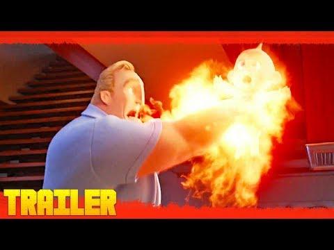 Los increíbles 2 (2018) Disney Primer Teaser Tráiler Oficial Subtitulado