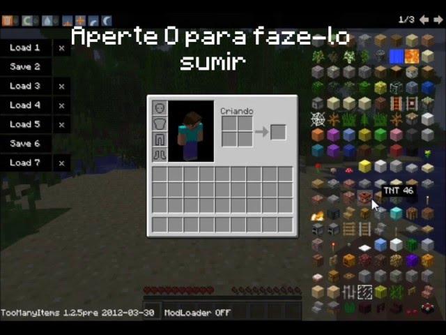 Minecraft-Too Many Items 1.2.5