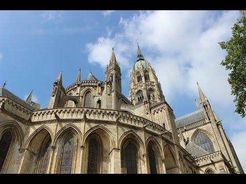 Vlog 9 - Visite de la ville de Bayeux!