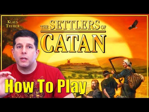 Game Rules - How To Play Settlers Of Catan - (Rules in HD)