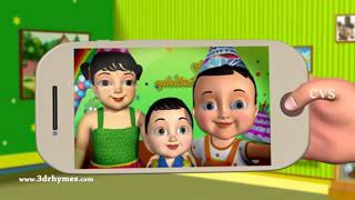 Happy Birthday Song   3D Animation English Nursery Rhymes & Songs For Children low