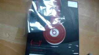 Unboxing: Beats By Dr. Dre Solo HD special edition (product) RED