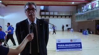 Para-Badminton, Torneo Roma 2018