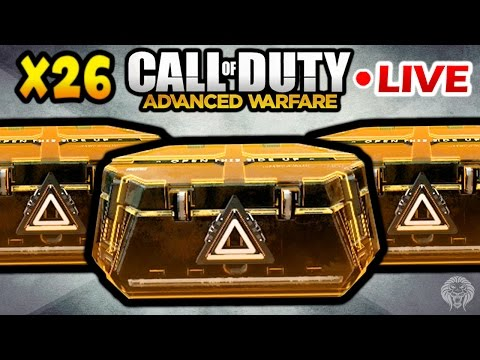 ADVANCED SUPPLY DROP OPENING! 26 Supply Drops - New Elite Weapons & Gear Live w/ Unknown Player