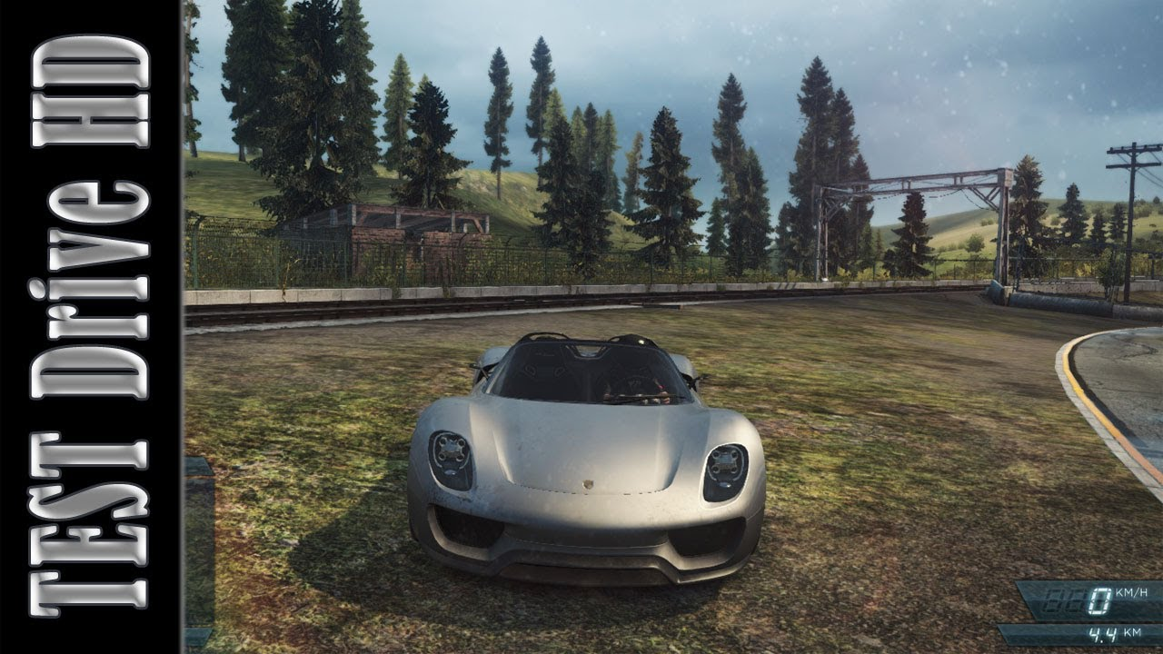 Porsche 918 Spyder Concept Need For Speed Most Wanted