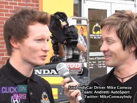 Andretti Autosport Driver Mike Conway Interview - Baltimore Grand Prix