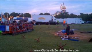 Clarksville Zombie Hunters - Demo at Summerfest