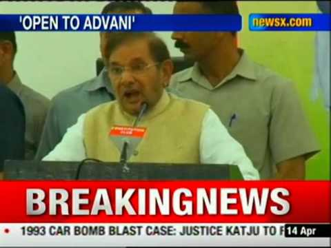 Anyone other than Modi will be acceptable: Sharad Yadav