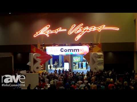 InfoComm 2016: Sarah Whitmore Covers Opening Ceremony at InfoComm16