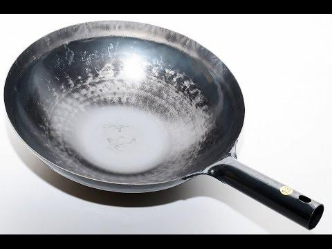 New YAMADA Chinese Hammered Iron Wok (thickness 1.6mm) 36cm ATY9236  86658