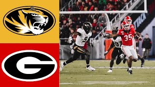 Missouri vs #6 Georgia Highlights | NCAAF Week 11 | College Football Highlights
