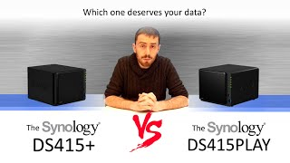 The Synology DS415PLAY VS The Synology DS415+ with SPANTV