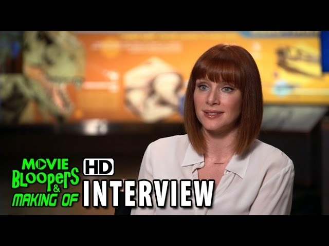 Jurassic World (2015) Behind the Scenes Movie Interview - Bryce Dallas Howard 'Claire'