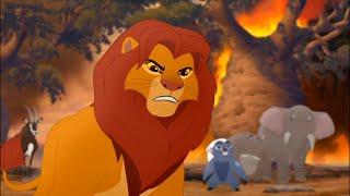 Simba meet Scar(English)The Lion Guard-The Fall of Mizimu Grove
