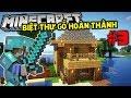RUỘNG LÚA MINI VÀ HOÀN THÀNH BIỆT THỰ NHỎ !! | Minecraft Sinh Tồn 1.13 #3