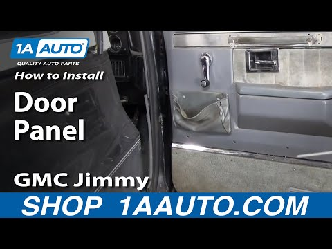 How To Install Replace Remove Door Panel 73-87 Chevy GMC pickup Truck & SUV