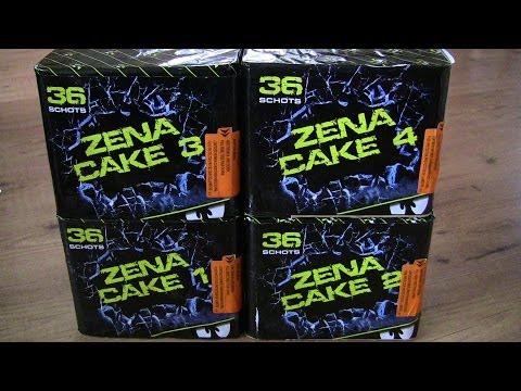 Zena Cakebox - Zena Vuurwerk