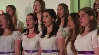 Hebe deine Augen auf - Gimnazija Kranj Girls Choir