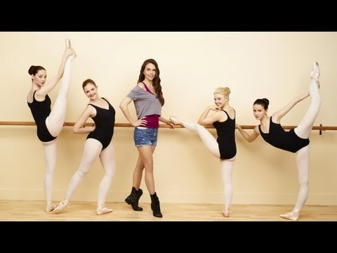 BUNHEADS Stars Teach Us Ballet Moves! - QUIET ON THE SET