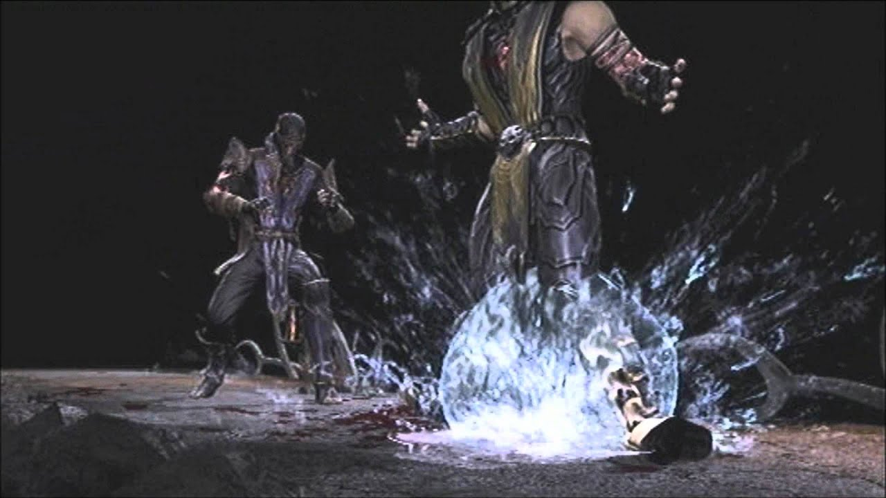 MORTAL KOMBAT 9: DLC RAIN (FATALITY,X-RAY) - YouTube