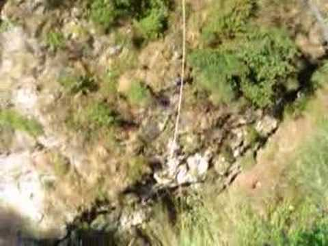 One of the world's greatest extreme sport is in Nepal... called Bungy Jump ...
