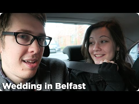 Video: American takes a trip to Belfast for friend's wedding and the results are hilarious