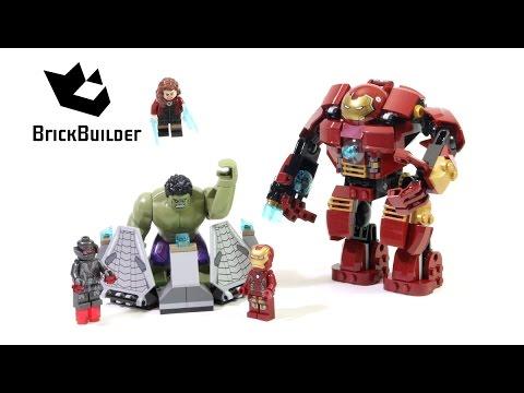 Lego Super Heroes 76031 The Hulk Buster Smash - Lego Speed Build