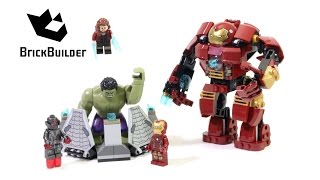 Lego Super Heroes 76031 The Hulk Buster Smash - Lego Speed Build