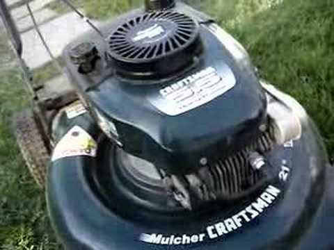 Trash Picked 5.5 HP Craftsman Mulching Lawnmower