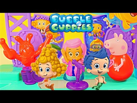 Bubble Guppies Rock & Roll Stage Nickelodeon Toys Peppa Pig Music Songs Fisher Price video
