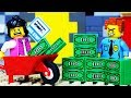 LEGO CITY BANK ROBBERY PRANK - POLICE CHASE STOP MOTION