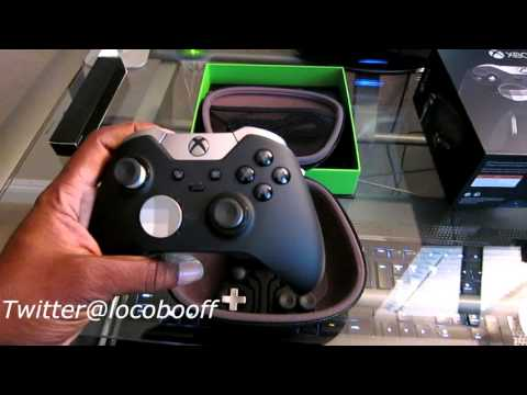 Xbox One Elite Controller Unboxing Setup & Review