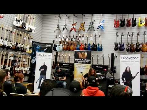 Mike Spreitzer,Jeff Kendrick live guitar clinic at West LA. Music 08/25/2011