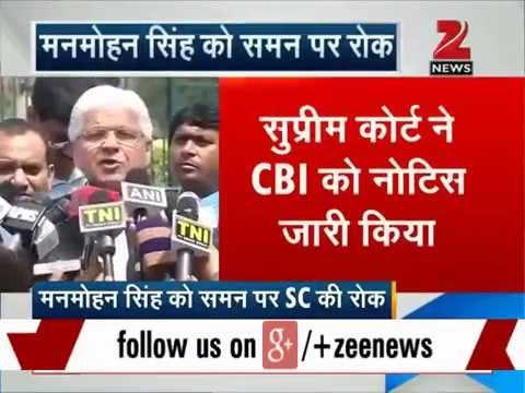 Coal scam: SC stays all proceedings against Manmohan Singh