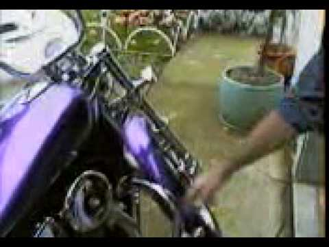 CUSTOM 1993 SUZUKI INTRUDER 750 MOTORCYCLE {video tour}