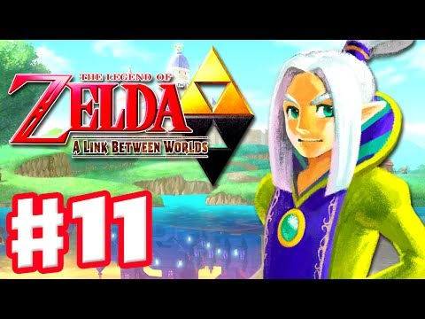 The Legend of Zelda: A Link Between Worlds - Gameplay Walkthrough Part 11 - Thieves' Hideout (3DS)