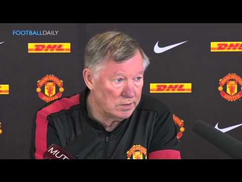 Sir Alex Ferguson's final press conference